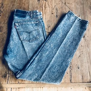 Vintage 1980's Levi's 501 Stonewashed Jeans